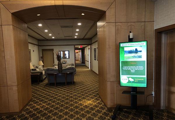 Digital Signage; Albany , NY; Colonie Golf & Country Club