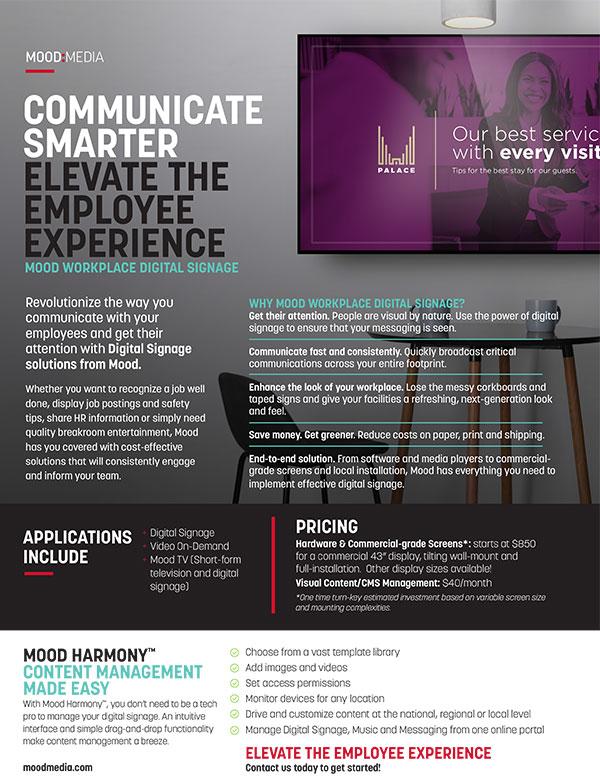 2020 Workplace Digital Signage