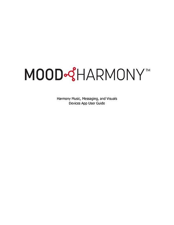 Harmony Devices User Guide - 2021